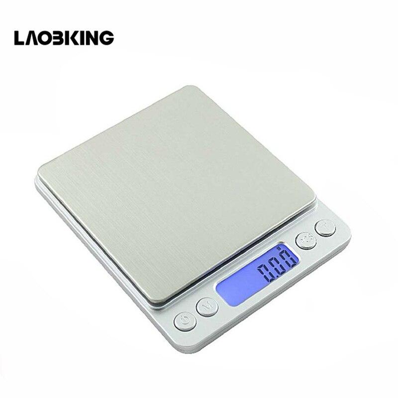 2000*0.1g Portátil Mini balança Eletrônica Digital Balanças de Cozinha Postal Balança Equilíbrio Jóias Joyeria Musculation Balanca