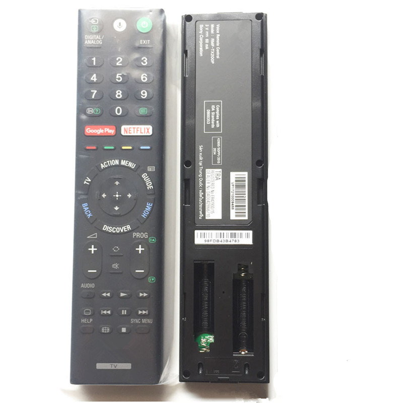 New remote control for SONY voice LCD LED Smart TV controller RMF-TX200P