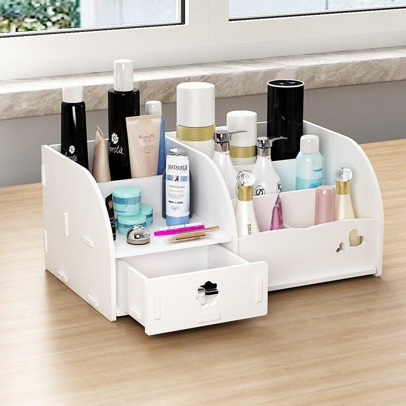 Caixa de armazenamento de cosméticos caixa de armazenamento do cabo de Dados caixa de armazenamento de Jóias Caixa De Armazenamento de materiais materiais Eco Friendly