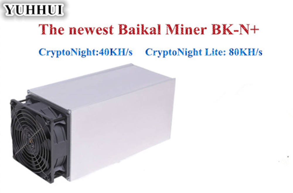 Baikal Giant N+ Giant N Plus CryptoNight 40KH/S CryptoNight Lite 80KH/s Miner 130W 1