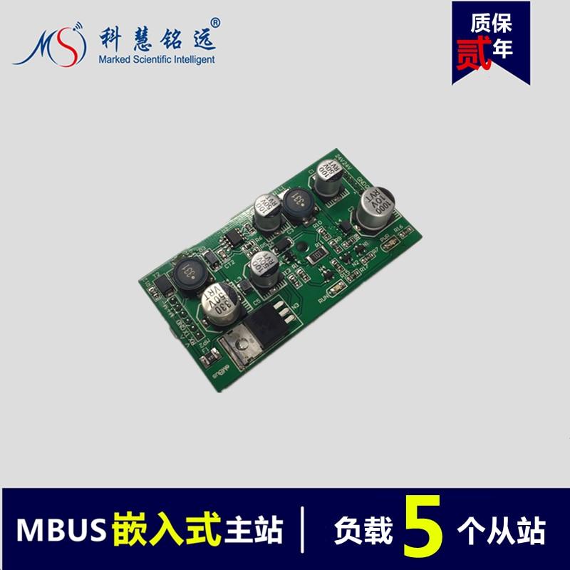 MBUS/M-BUS/Meter-BUS to UART Embedded Master Station Module (5 Load) esp 07 esp8266 uart serial to wifi wireless module