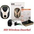 720 P HD Беспроводной Дверной Звонок 3 Г 4 Г Wi-Fi Камера + Крытый Visual Дверной звонок Домофон ИК Ночного Видения Главная Улучшение кольцо