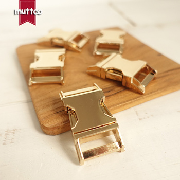 50pcs/lot DIY for Dog Collar Golden 2.0cm diy backpack zinc alloy buckle zinc alloy pet metal buckle DCK-003