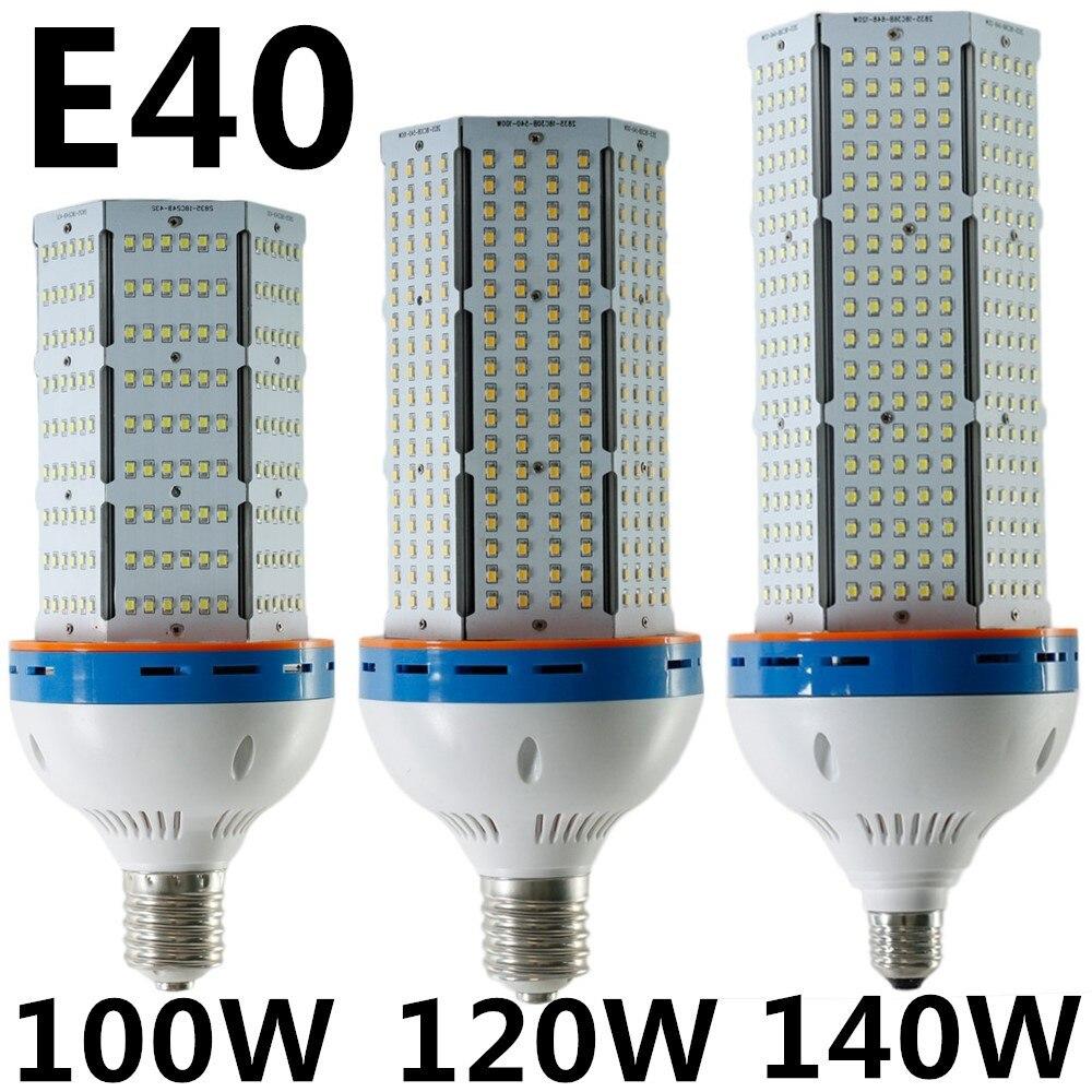 Hot Sale 100W 120W 140W High Power LED Corn Light E27 E40 Warm White/Cool White AC85-265V Corn Lamp Lighting 2pcs/lot Wholesale winsune 2 100w cool white