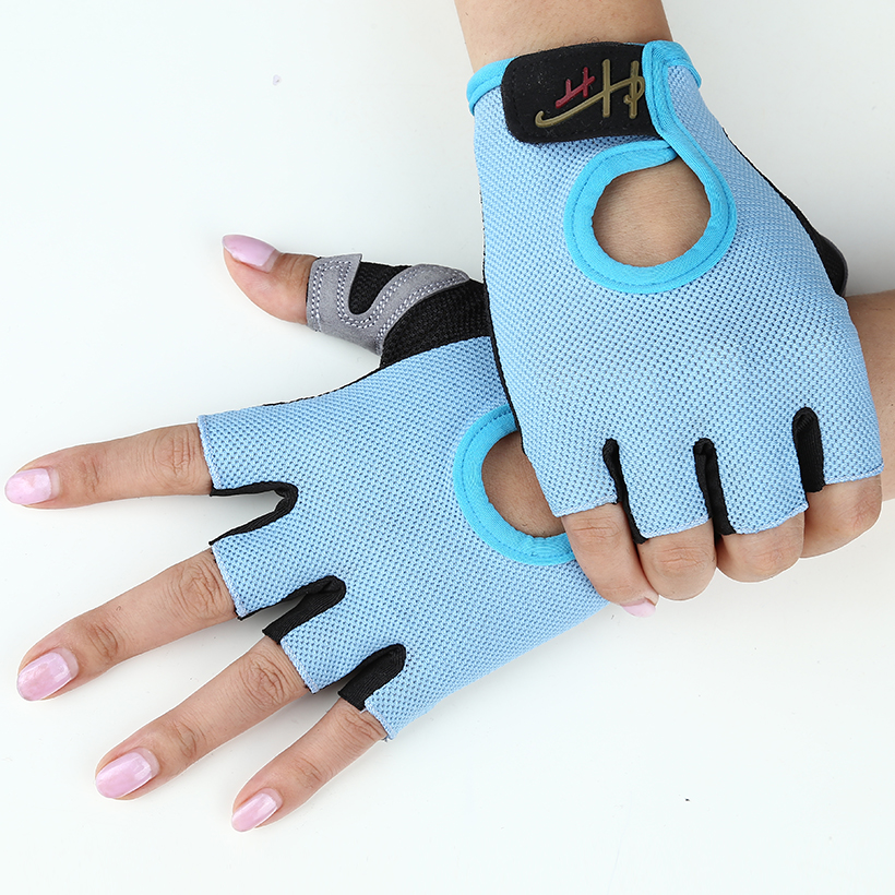 Gym Half Finger Gloves Sports Fitness Exercise Training Wrist Multifunction for Men & Women Sweat Absorption Friction Resistance