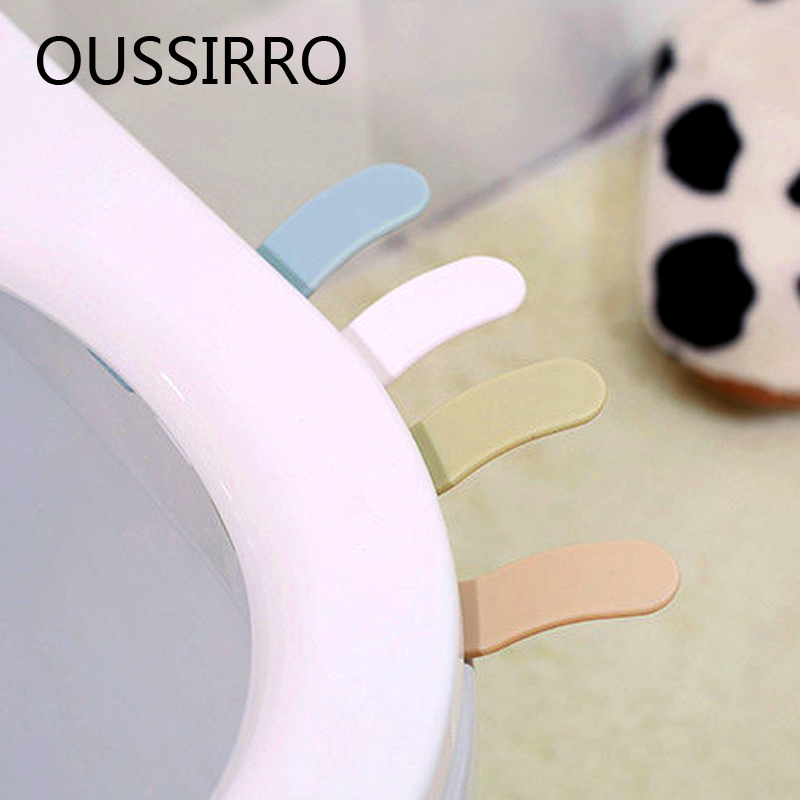 Modern Simplicity Toilet Seat Lifting Device Products Toilet Cover Lid Portable Handle Toilet Accessories
