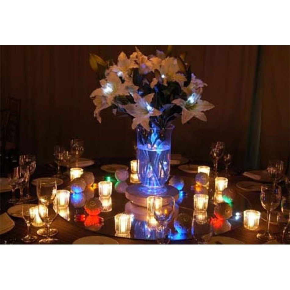 10pcs wedding christmas decorations led paper lanterns for Lighted wedding centerpieces ideas
