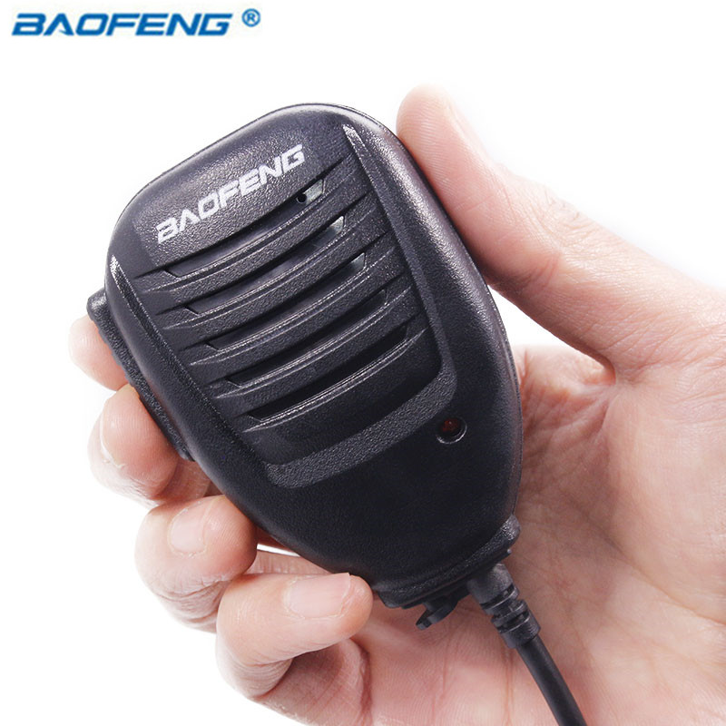 BAOFENG BF-26 Haut-Parleur Mic Microphone pour Baofeng Portable Two Way Radio UV-5R UV-5RE UV-B6 BF-888S GT-3 Talkie Walkie