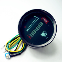 Car modification accessories car dashboard display electronic fuel gauge steel light bar