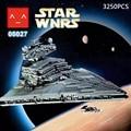 Star Wars Rogue Uno Mega Lepin Imperial Destructor Acorazado espacial Building Block Compatible Legoe 10030 de Juguete de regalo