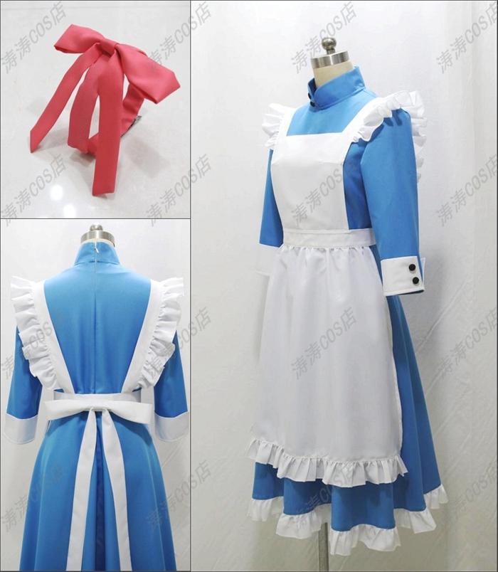 Kagerou Project Jinzou Enemy KOZAKURA MARI Cosplay Costume Blue Custom woman Made Anime Uniform
