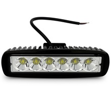 Safego 6 inch 18w led work light font b lamp b font car Off Road Driving