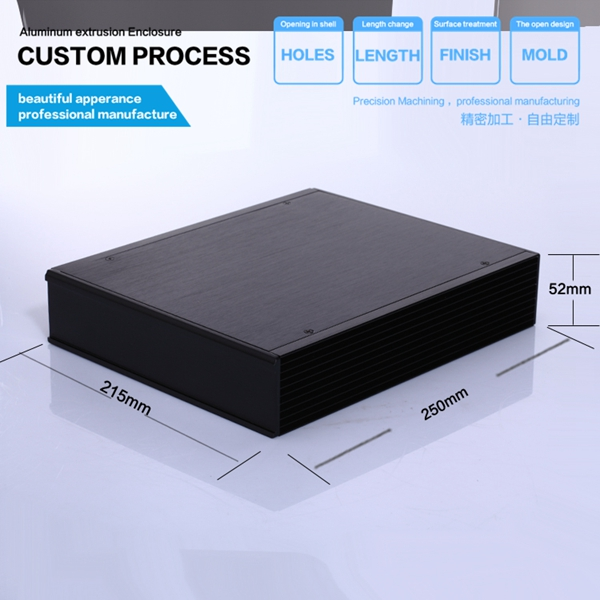 все цены на  YGS-030-215*52*263mmAluminum suitable preamp good quality enclosure  онлайн
