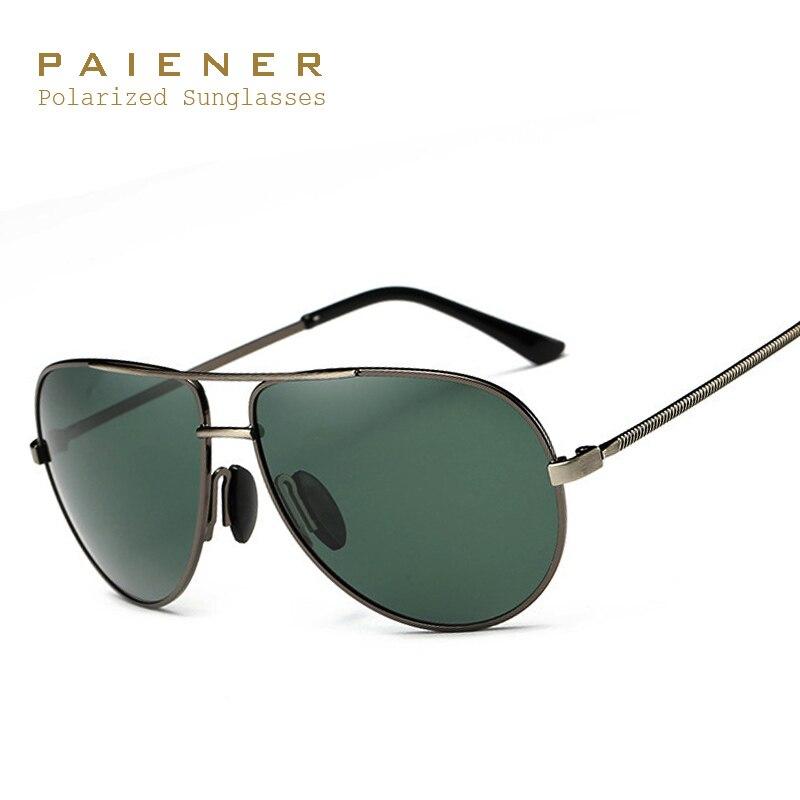 739fd4bd31d30 Aviação Óculos Polarizados Homens Marca Designer óculos de Sol ...