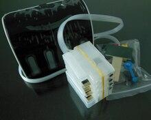 1 компл. СНПЧ для HP 711 для HP T120 T520 Система непрерывной подачи чернил для HP Designjet T120 T520 принтер с АВТОСБРОС чип