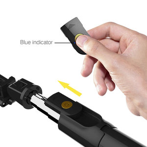 Image 4 - 3 in 1 Wireless Bluetooth Selfie Stick for iphone/Android/Huawei Foldable Handheld Monopod Shutter Remote Extendable Mini Tripod