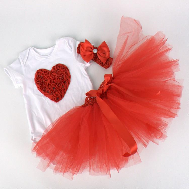 Newborn Girls Summer Baby Clothing Sets (3)