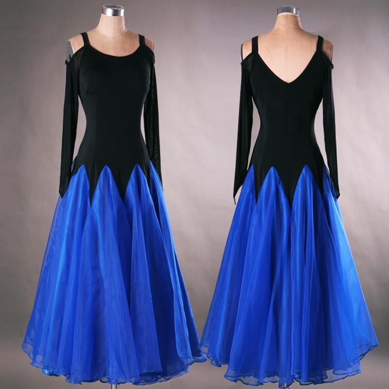 ladies standard womens ballroom dance dresses long sleeve ballroom dresses waltz flamenco tango for sale skirt