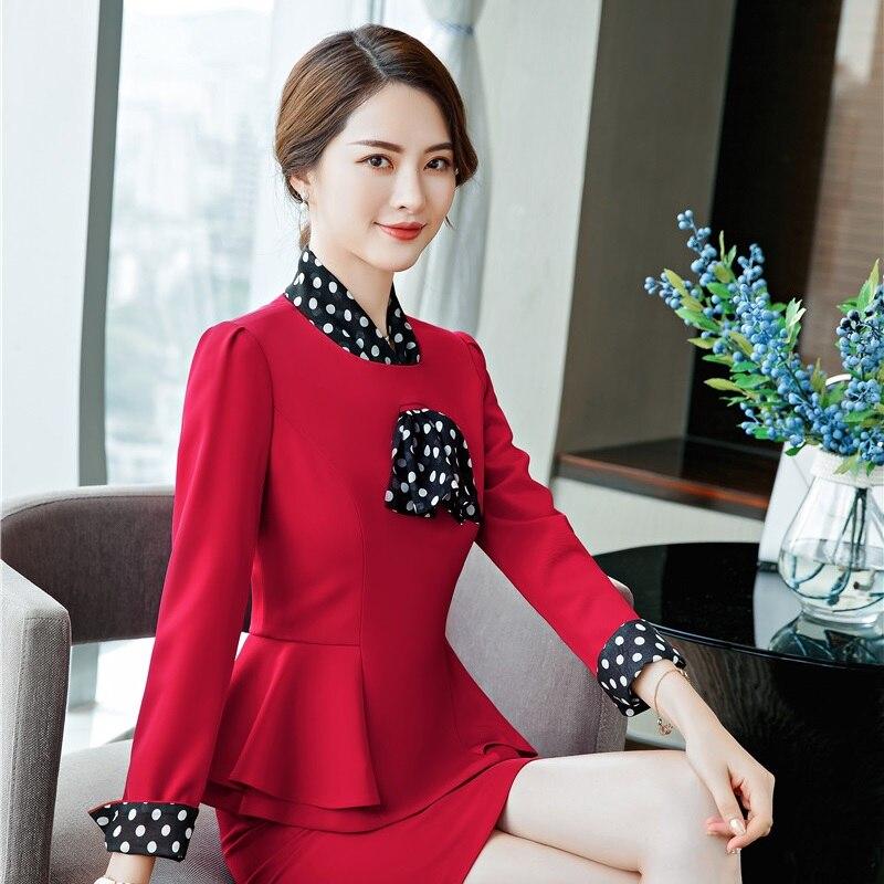 Coat Jackets Outwear Blazers Spring Fall-Tops Long-Sleeve Business Formal Fashion Women