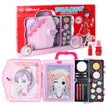 Children's cosmetics princess makeup box set box non-toxic children's play house combination small girl toys