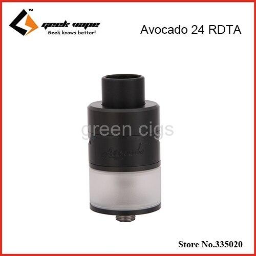Original Geekvape Avocado 24 RDTA 5.0ml Tank with Velocity Deck Support Single or Dual Coil Avocado 24 RDTA Tank