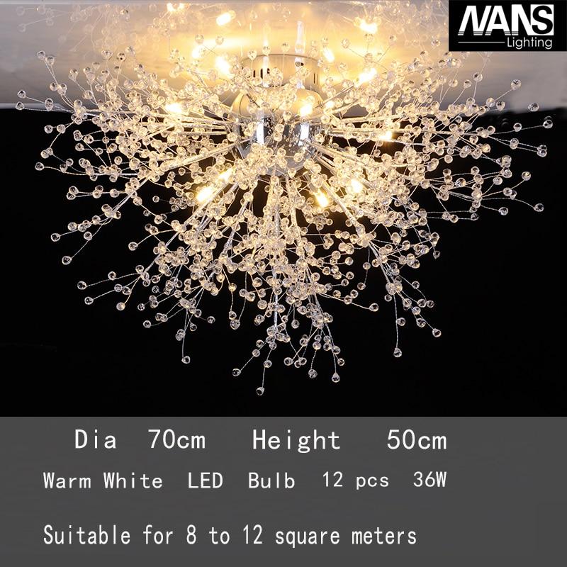 NANS Заманға сай жаңғыртылған Crystal Acrly LED - Ішкі жарықтандыру - фото 3