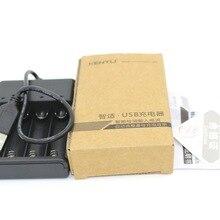 1 шт. USB зарядное устройство KENTLI 4 слота USB зарядное устройство для KENTLI 1,5 в AA литиевая аккумуляторная батарея
