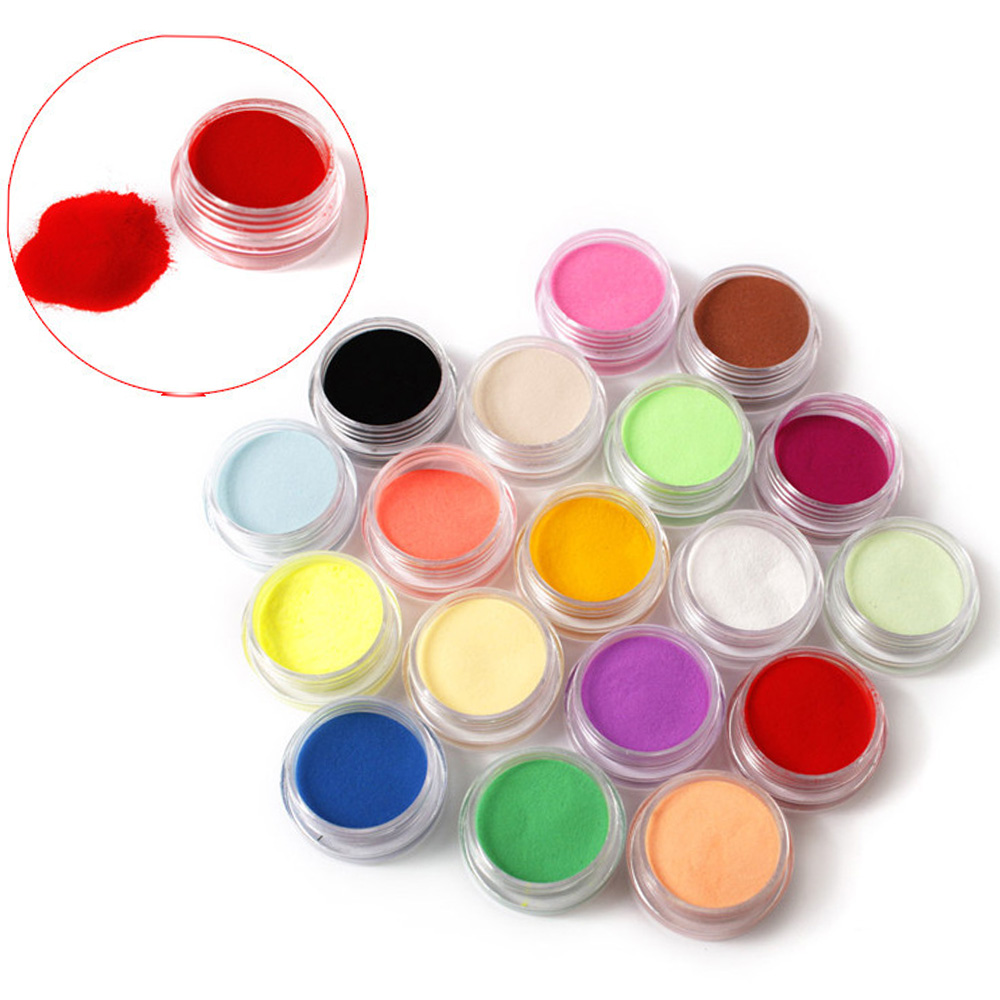 12 colores polvo acrílico polvo UV Gel diseño 3D puntas para decoración de manicura uñas arte acrílico polvos y líquidos uñas limpiador Bit Válvulas de retención de líquidos en línea de agua sin retorno de una sola vía de plástico para líquido de Gas combustible