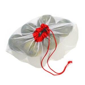 Image 5 - 1 sztuk/3 sztuk/5 sztuk wielokrotnego użytku produkcji worki siatkowe liny warzyw zabawki pokrowiec owoce i torby spożywcze siatki do przechowywania torba na zakupy