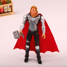 Une pièce super-héros Avengers endgame Iron Man Hulk Captain America Superman Batman figurines d'action cadeau Collection de jouets pour enfants