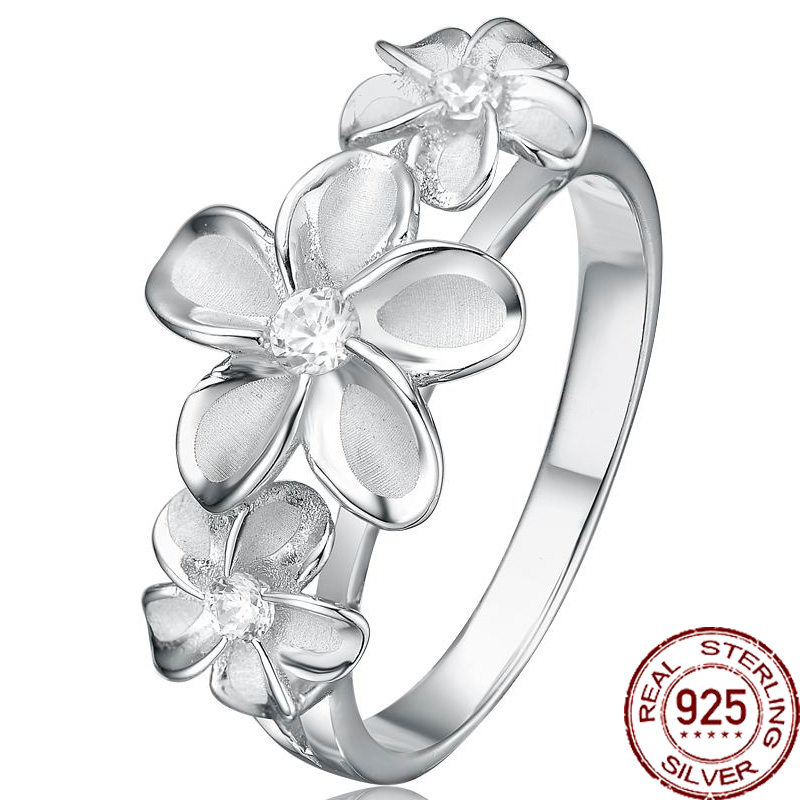 1de3c408cdcd96 Aceworks Flowers Shape Mosaic Zirconia 925 Sterling Silver Rings Party  Vintage Style Charm Gift Jewelry Plant Designer RN1606