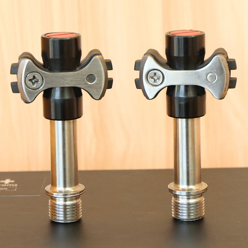 BXT alliage axe VTT/Route pédales de vélo léger et durable vélo titanium pédales de vélo partie axe superlight M69g Poids - 2