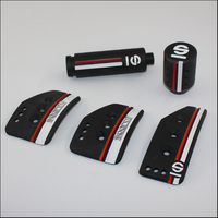 Car Styling Aluminium Accessories For Modified Transmission Accelerator Car MT Pedals With Handbrake Gear Shift Knob