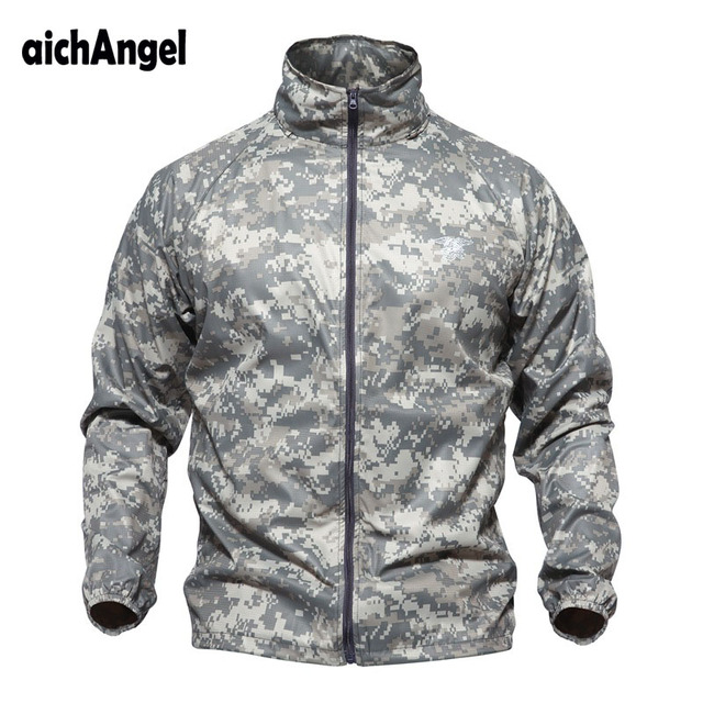 Waterproof Camouflage Tactical Jacket for Men