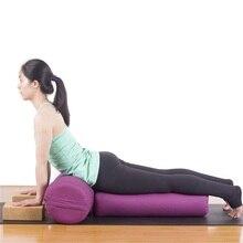 new high elastic strong support comfortable yoga pillow yoga bolster yoga cushion pilates rollerchina - Yoga Bolster