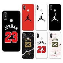 Jordan For iPhone 8 Plus X Xs Max XR 5 SE 6s S 7 Cover For Xiaomi Mi A1 A2 Note 5X 6X 3 4 4C 5 5S Plus 6 8 Mi Mix 2 2S TPU Case