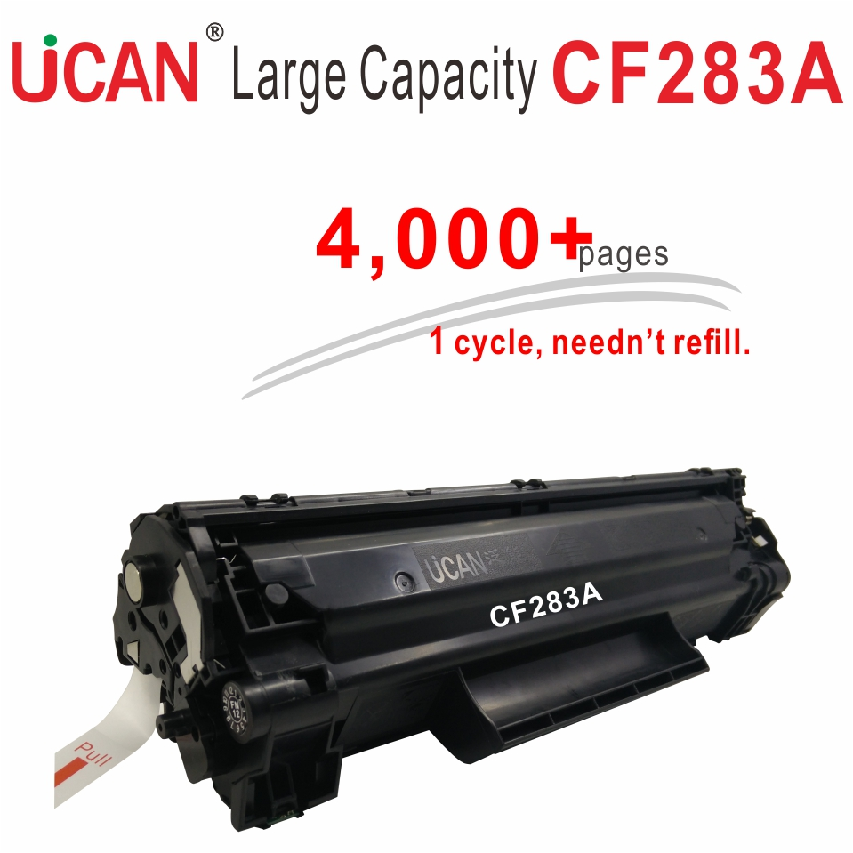 4000 pages Large Capacity Refillable 83a CF283a Toner Cartridges for Hp Pro M125 M126 M127 M128 M201 M202 M225 M226 printer картридж nv print nvp cf283a для hp lj m125 125fw 125a m126 m126a m127 m127fw fn m201