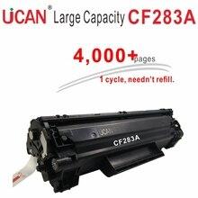 83A 83X CF283A CF283X тонер картридж для HP LaserJet Pro мфу M125a M127fw M201dw M202 M225dw принтер лазерный для компьютера  4000 страниц