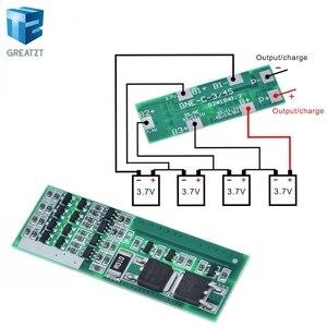 GREATZT 4S 8A Защитная плата зарядного устройства литий-ионного аккумулятора для 4 серийных 4 защитных модуля зарядки li-ion 3,7 pcs