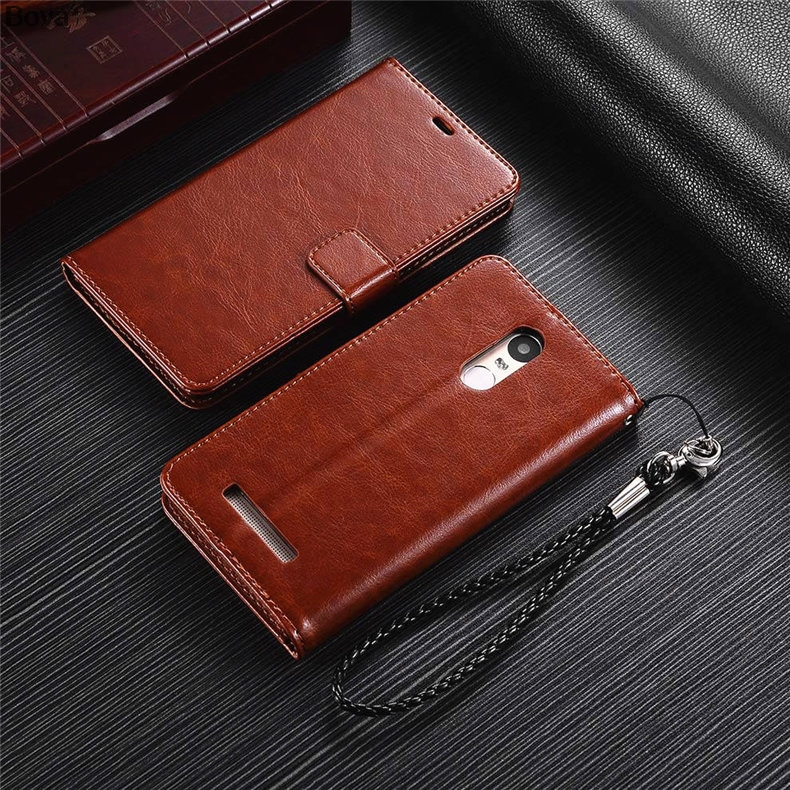 Redmi Note 3 korthållare täckväska för Xiaomi Redmi Note 3 Pro Pu - Reservdelar och tillbehör för mobiltelefoner - Foto 6