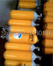 5l respirational spare bottle 5l air breathing apparatus gas cylinder gas steel cylinder spare