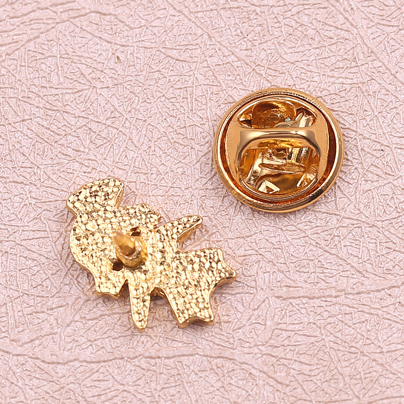 US $0 8 40% OFF|Cute Nurse Character Brooches & Pins Gold Color Heart  Enamel lapel pin Women for Doctor Nurse Medical Jewelry Dress  Accessories-in