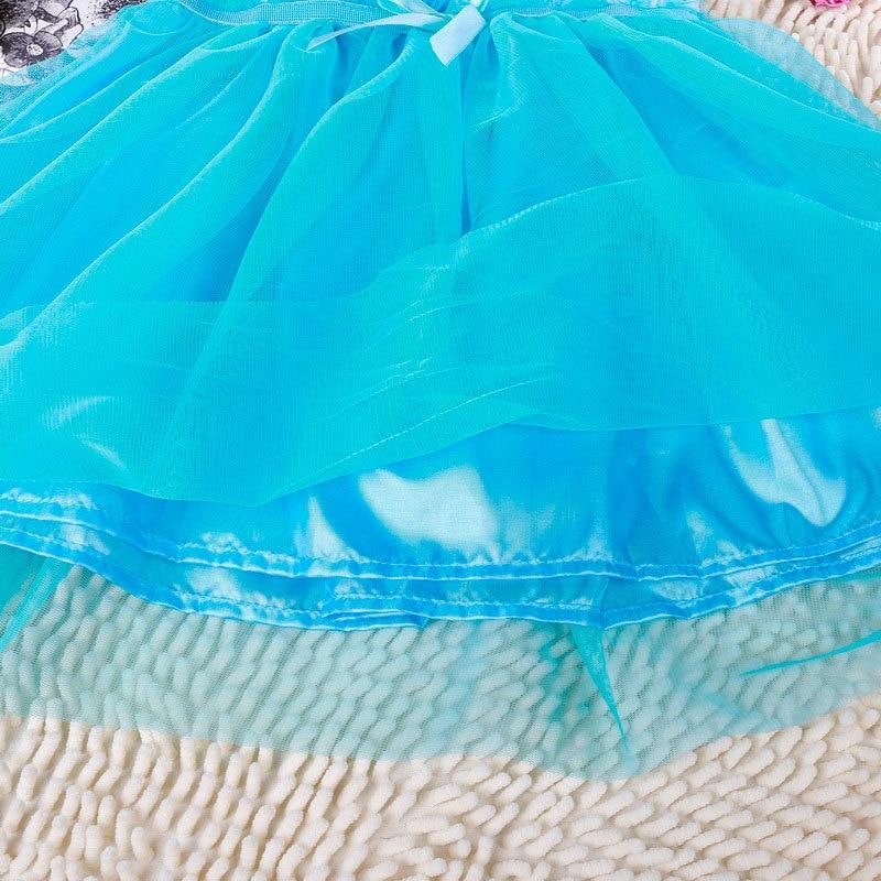 Kids 2-7år New Girls Dresses Vestidos Elsa Klänning Barn Snow Queen - Barnkläder - Foto 6