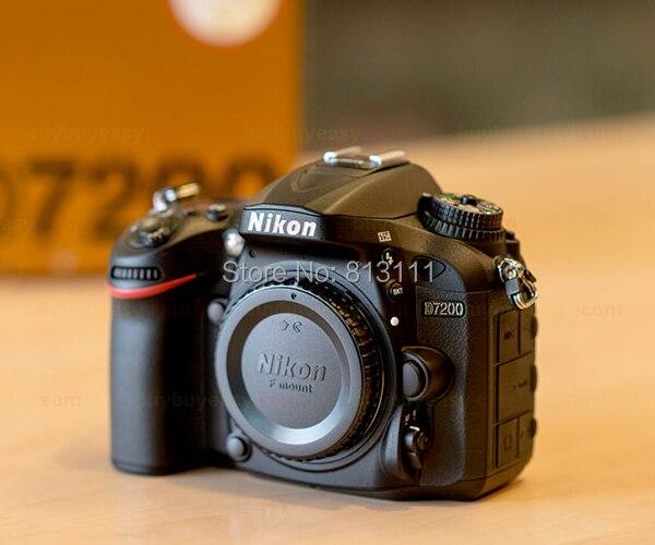 Nikon D7200 DSLR Camera 24.2MP DX-Format 1080p Video Wi-Fi 3.2 LCD (Brand New) canon 6d dslr camera full frame 20 2mp 3 0 lcd full hd 1080p video wi fi body only brand new