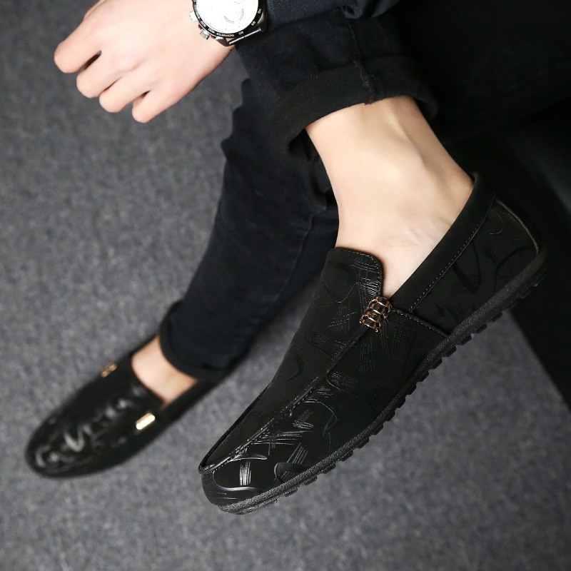 YD-EVER 2018 Fashion Summer Style Soft Moccasins Men Loafers High Quality Genuine Leather Shoes Men Flats Gommino Driving Shoes