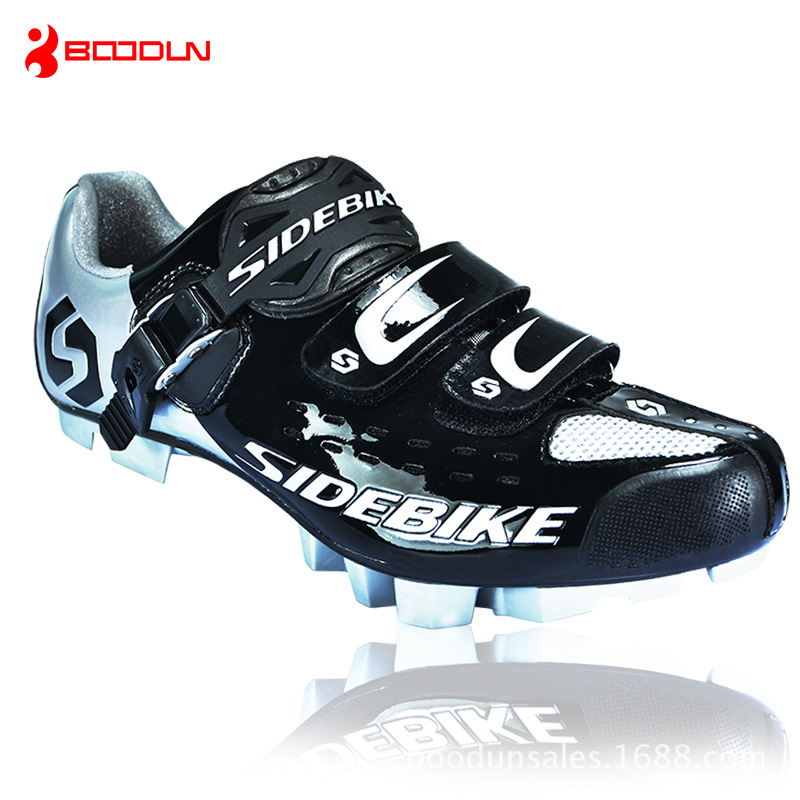 Boodun Professional Bicycle Cycling Shoes Breathable Men Road MTB Bike Racing Athletic Shoes Tuning Knob Fastener Shoe west biking bike chain wheel 39 53t bicycle crank 170 175mm fit speed 9 mtb road bike cycling bicycle crank