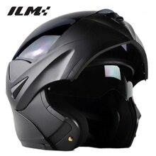 DOT Aprobado casco de La Motocicleta Tirón Encima Del Casco con Visera Interior de seguridad de Doble Lente Dual Visor Racing Motocross Quad Bici de La Suciedad casco