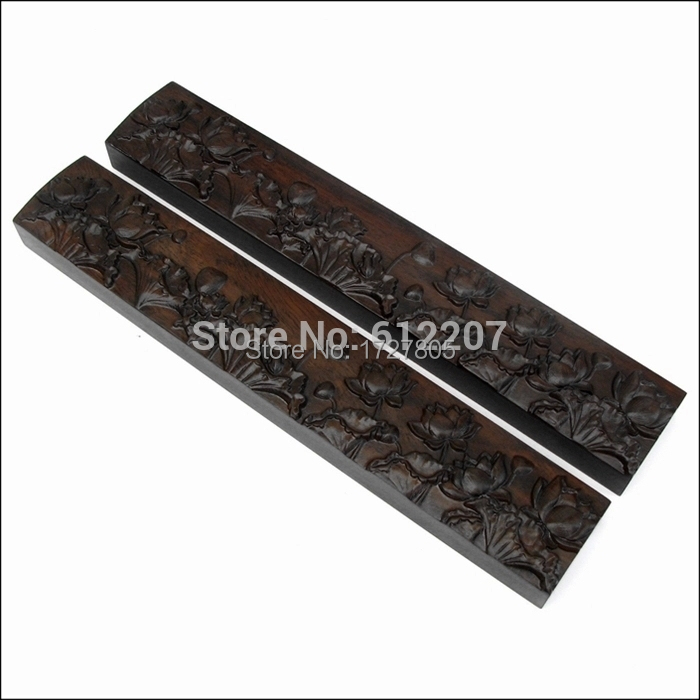 High quality Chinese Calligraphy Accessories redwood Paper weight  Black catalpa wood Lotus paper weight Free shipping free shipping 3pcs top quality pure garcinia cambogia extracts weight loss 75