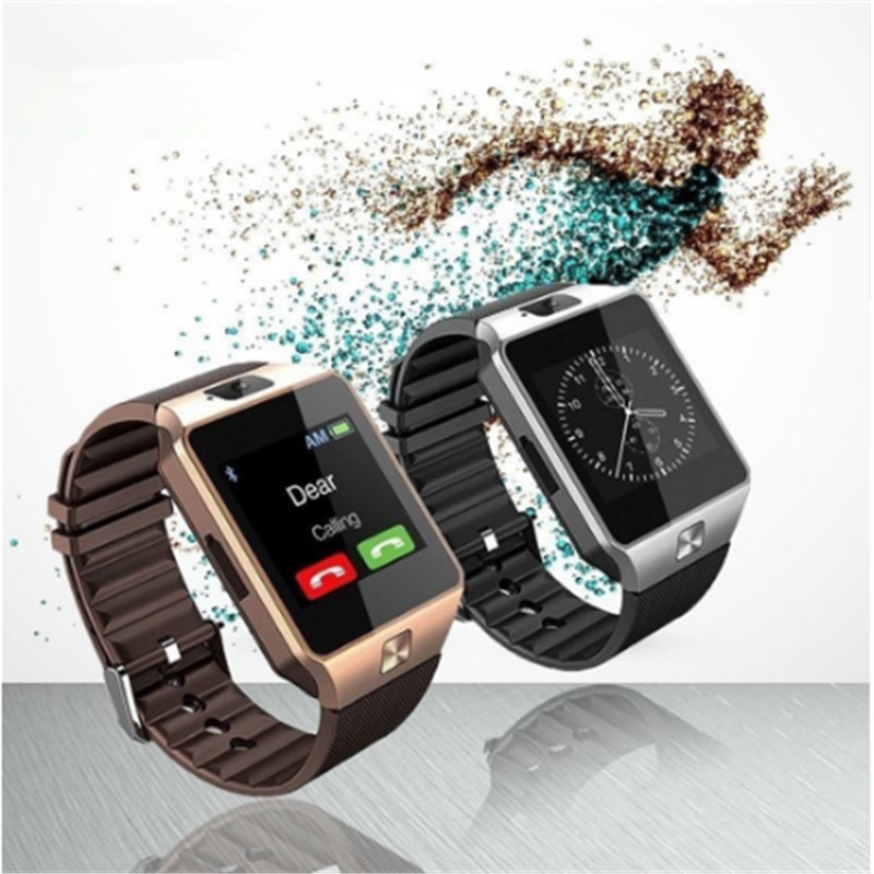 DZ09 Bluetooth Smart Watch Wrist Waterproof Phone Mate Sport Wristwatch Support TF Sim Camera Call Smartwatch For Android IOS