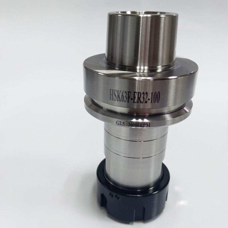 HSK63F ER32 ER40 100L Высокоточный 0,002 мм высокоскоростной деревообрабатывающий станок с ЧПУ держатель инструмента, тонкий гравировальный станок, г...